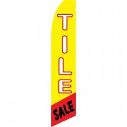 Tile Sale Swooper Flag