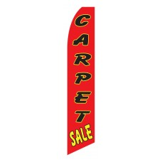 Carpet Sale Red Swooper Flag