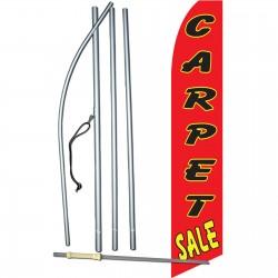 Carpet Sale Red Swooper Flag Bundle