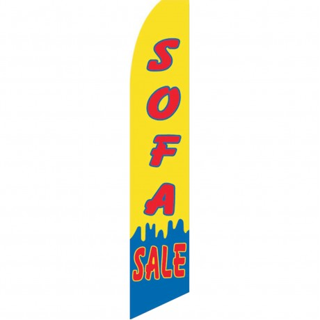 Sofa Sale Yellow Swooper Flag