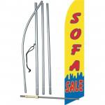 Sofa Sale Yellow Swooper Flag Bundle