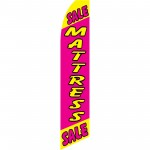 Mattress Sale Pink Swooper Flag