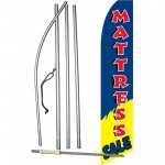 Mattress Sale Blue Yellow Swooper Flag Bundle
