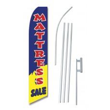 Mattress Sale Blue Yellow Swooper Flag Bundle