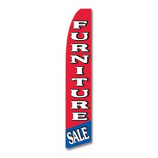 Furniture Sale R/B Swooper Flag