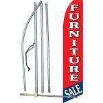 Furniture Sale Red Blue Swooper Flag Bundle