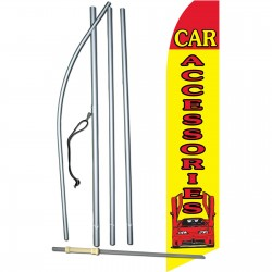 Car Accessories Swooper Flag Bundle