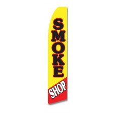 Smoke Shop Swooper Flag