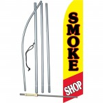 Smoke Shop Pipe Swooper Flag Bundle