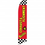 Quality Exhaust & Alignment Flag