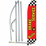 Quality Brake Service Swooper Flag Bundle