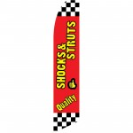 Quality Shocks & Struts Swooper Flag