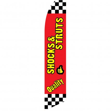Quality Shocks & Struts Swooper Flag