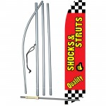 Quality Shocks - Struts Swooper Flag Bundle