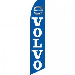 Volvo Blue Swooper Flag