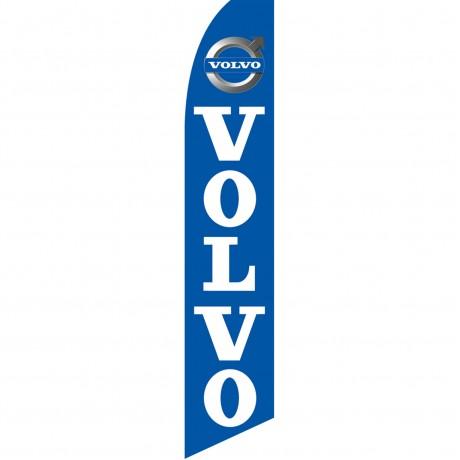 Volvo Blue Swooper Flag