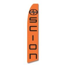 Scion Orange Swooper Flag