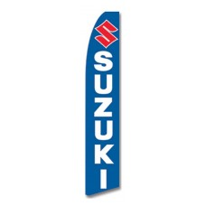 Suzuki Blue Swooper Flag