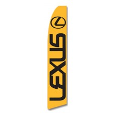 Lexus Yellow Swooper Flag