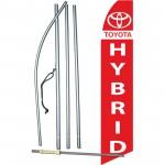 Toyota Hybrid Swooper Flag Bundle