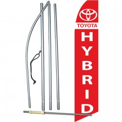 Toyota Hybrid Swooper Flag Bundle