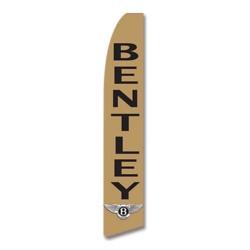 Bentley Gold Swooper Flag