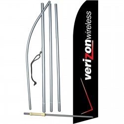 Verizon Wireless Swooper Flag Bundle