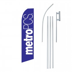 Metro PCS Swooper Flag Bundle