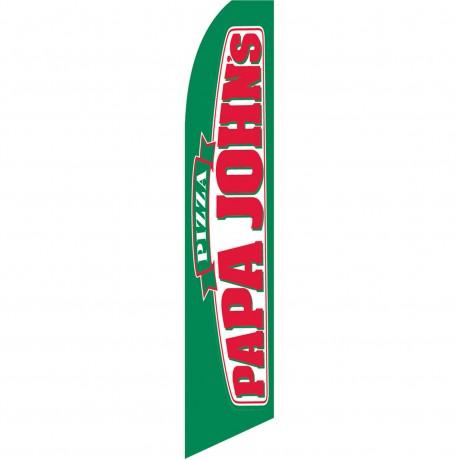 Papa John's Pizza Swooper Flag
