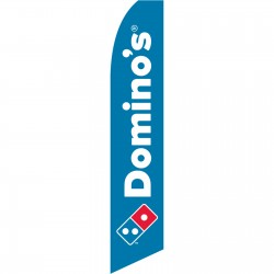 Domino's Pizza Swooper Flag