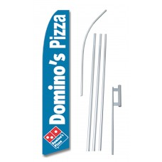 Domino's Pizza Swooper Flag Bundle