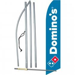 Domino's Pizza Swooper Flag Bundle