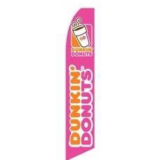 Dunkin' Donuts Swooper Flag