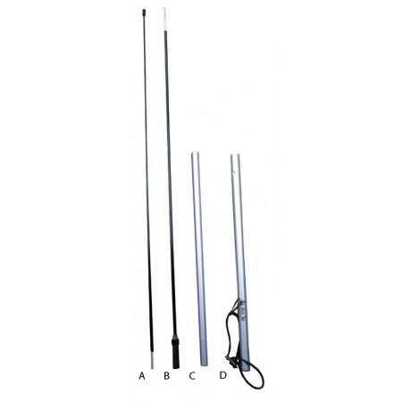 8 Foot 4 pc Graphite & Aluminum Swooper Pole