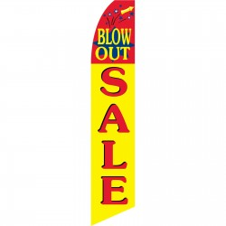 Blowout Sale Swooper Flag