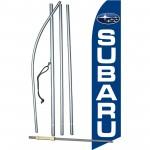 Subaru Blue Swooper Flag Bundle