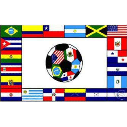 South American Soccer Club 3 X 5 Soccer Flag F 1195