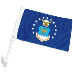 Custom Car Flags with Pole Single Sided