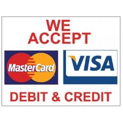 Visa/Mastercard Poster