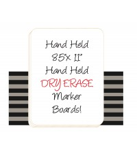 Dry Erase Student Marker Board
