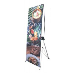 X-Banner Stand With Graphic