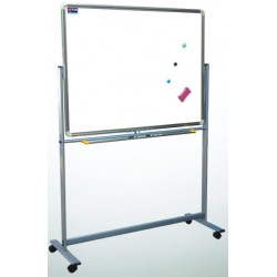 "36""x 48"" Reversible & Roll Around Magnetic Dry Erase"