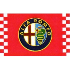 Alfa Romeo Checkered Automotive 3' x 5' Flag