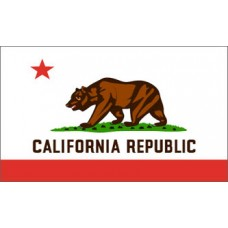 California 3'x 5' State Flag