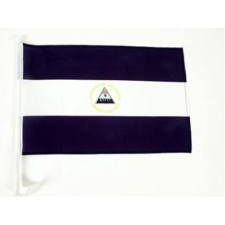 "Nicaragua 12"" x 15"" Car Window Flag"
