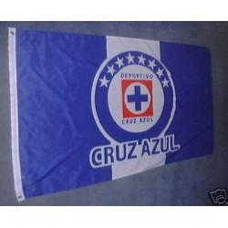 Cruz Azul 3'x 5' Soccer Flag