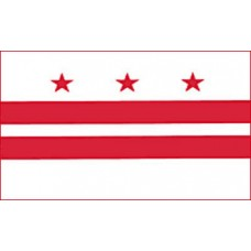 District of Columbia 3'x 5' Flag