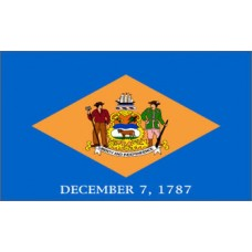 Delaware 3'x 5' State Flag