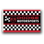 Dodge Motorsports Black/Red Premium 3'x 5' Flag