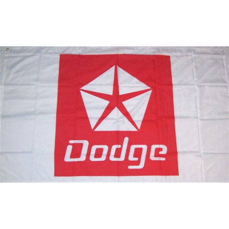 Dodge Automotive Logo 3'x 5' Flag
